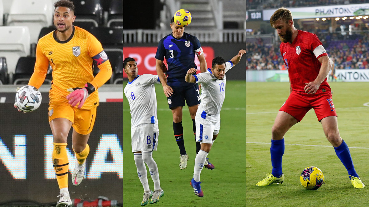 Zack Steffen, Aaron Long and Tim Ream have all been USMNT captains