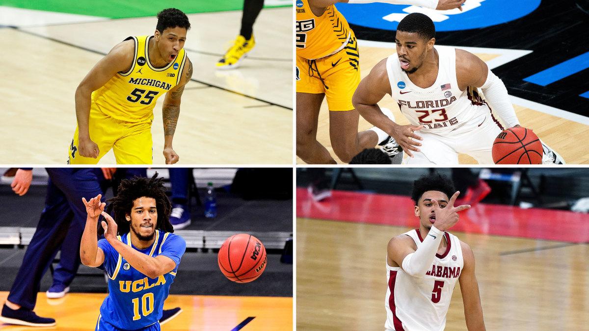 Michigan, FSU, Alabama and UCLA are left in the East Region