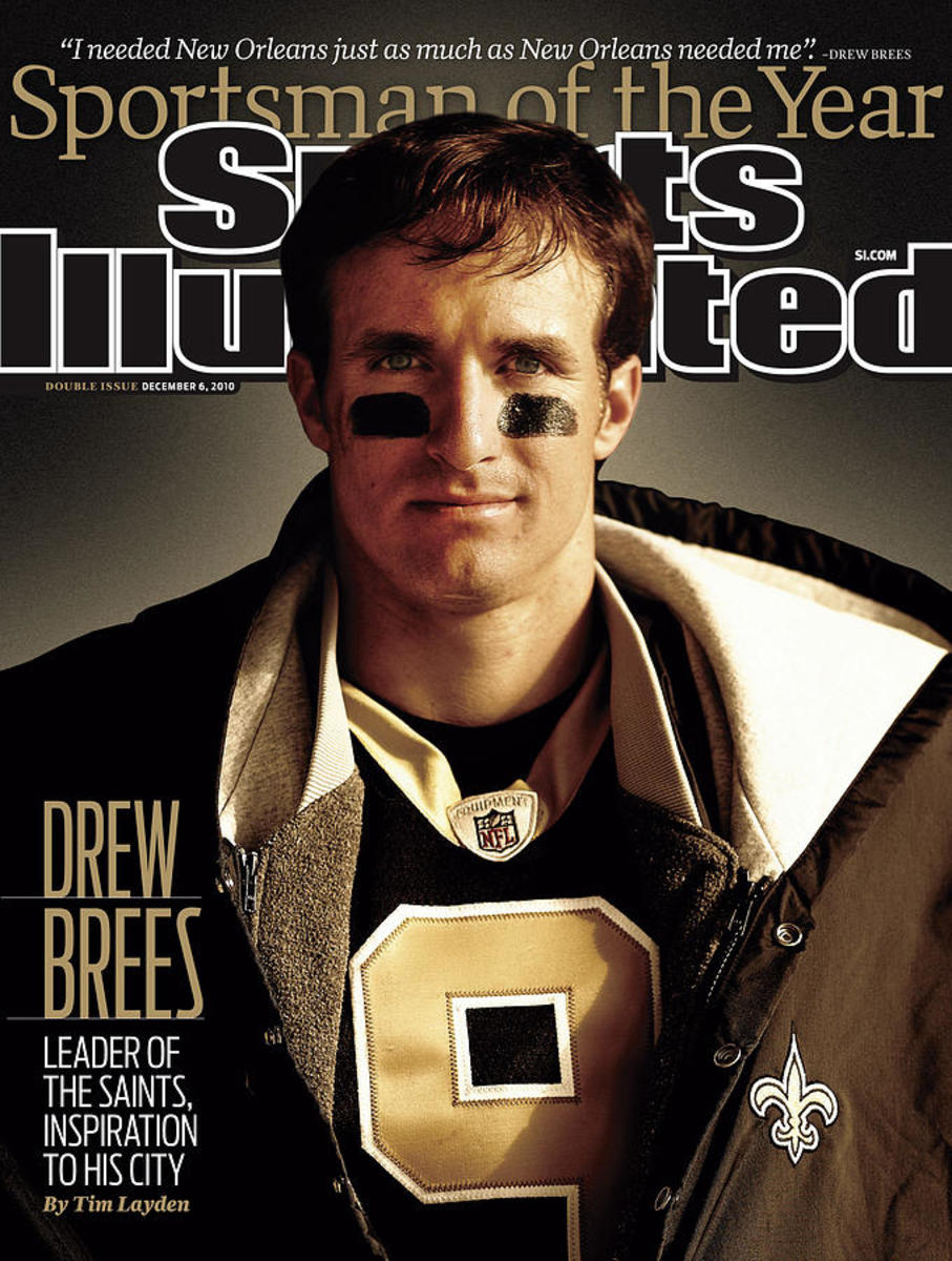 Drew Brees: Leader of the Saints Inspiration to His City