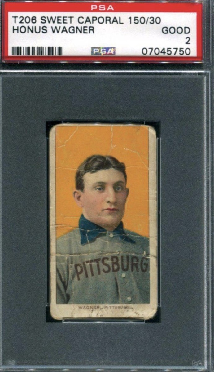Honus Wager t206 card