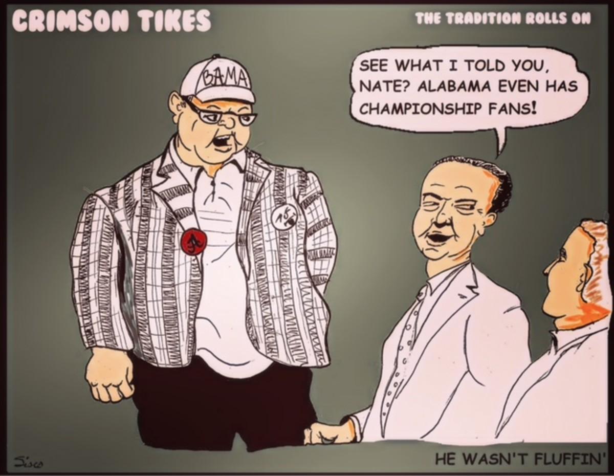 Crimson Tikes: He Wasn't Fluffin'