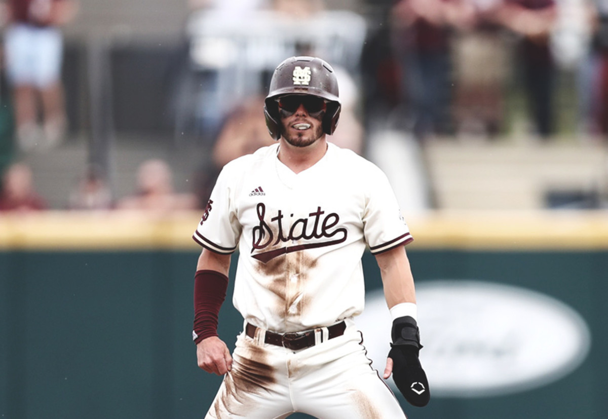 Tanner Allen had two hits, including a home run and two RBI on Saturday. (Photo courtesy of Mississippi State athletics)