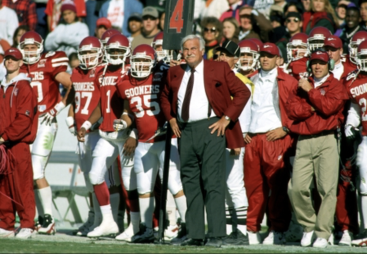 Howard Schnellenberger at OU