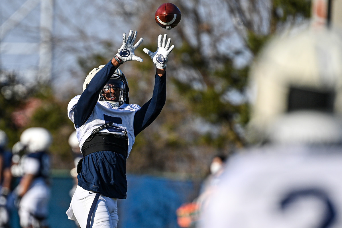 Receiver Jahan Dotson (Penn State Athletics)