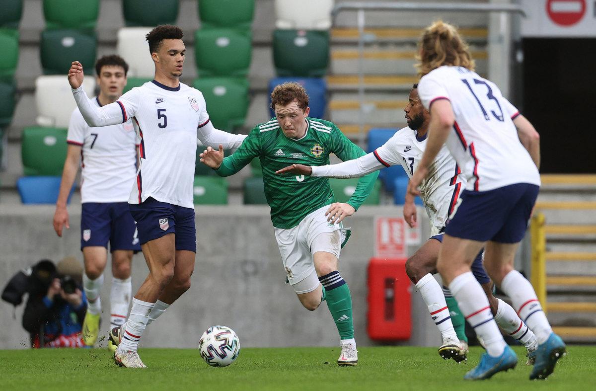 USMNT beats Northern Ireland, 2-1