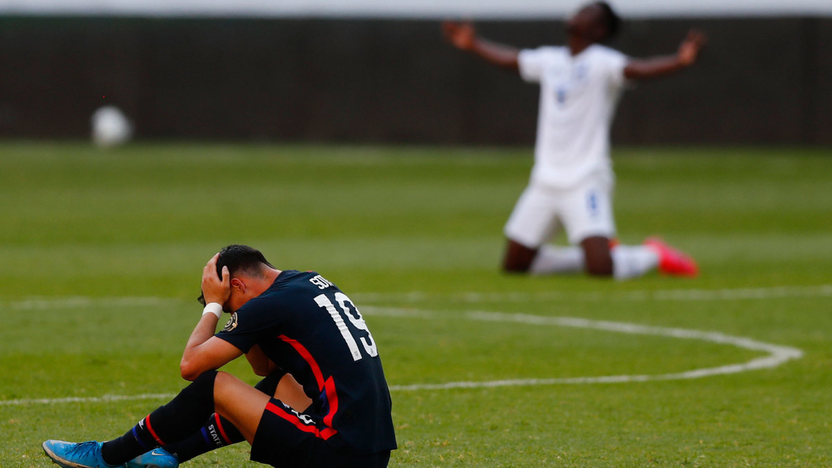 The USA U-23s fail to qualify for the Olympics
