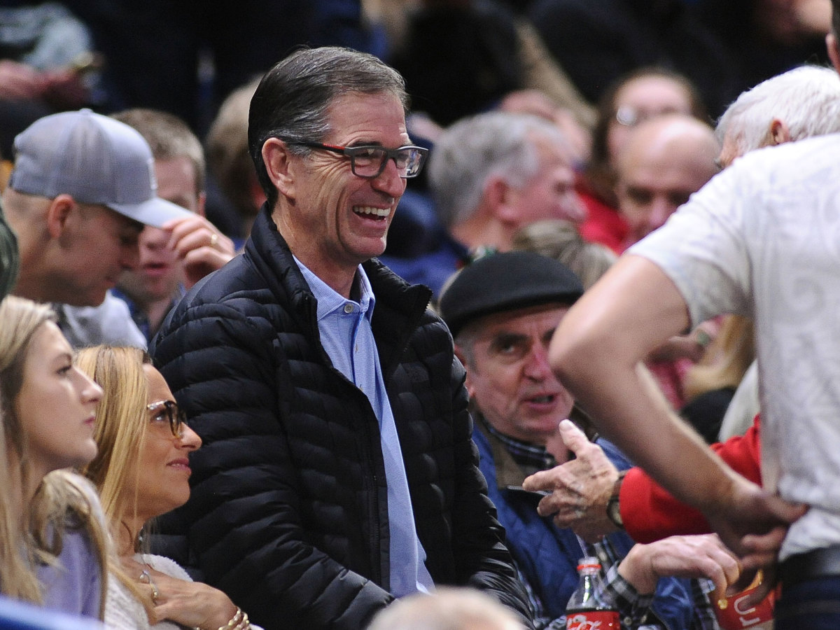 John Stockton attends a Gonzaga game in 2020