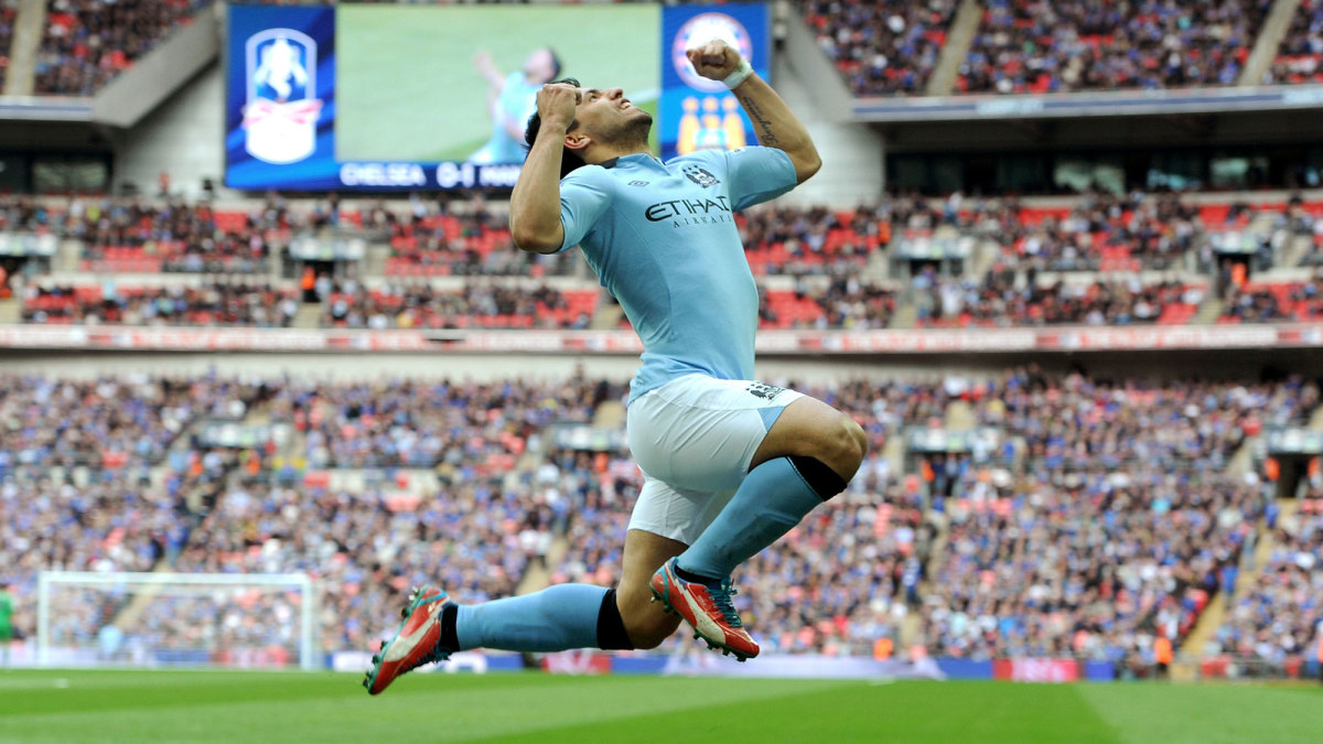 Sergio Aguero is leaving Manchester City after 10 years