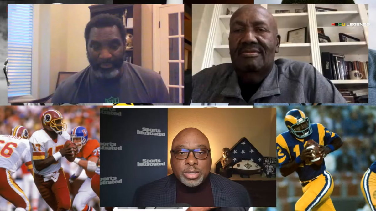 """Doug Williams and James """"Shack"""" Harris interviewed by Kyle T. Mosley"""