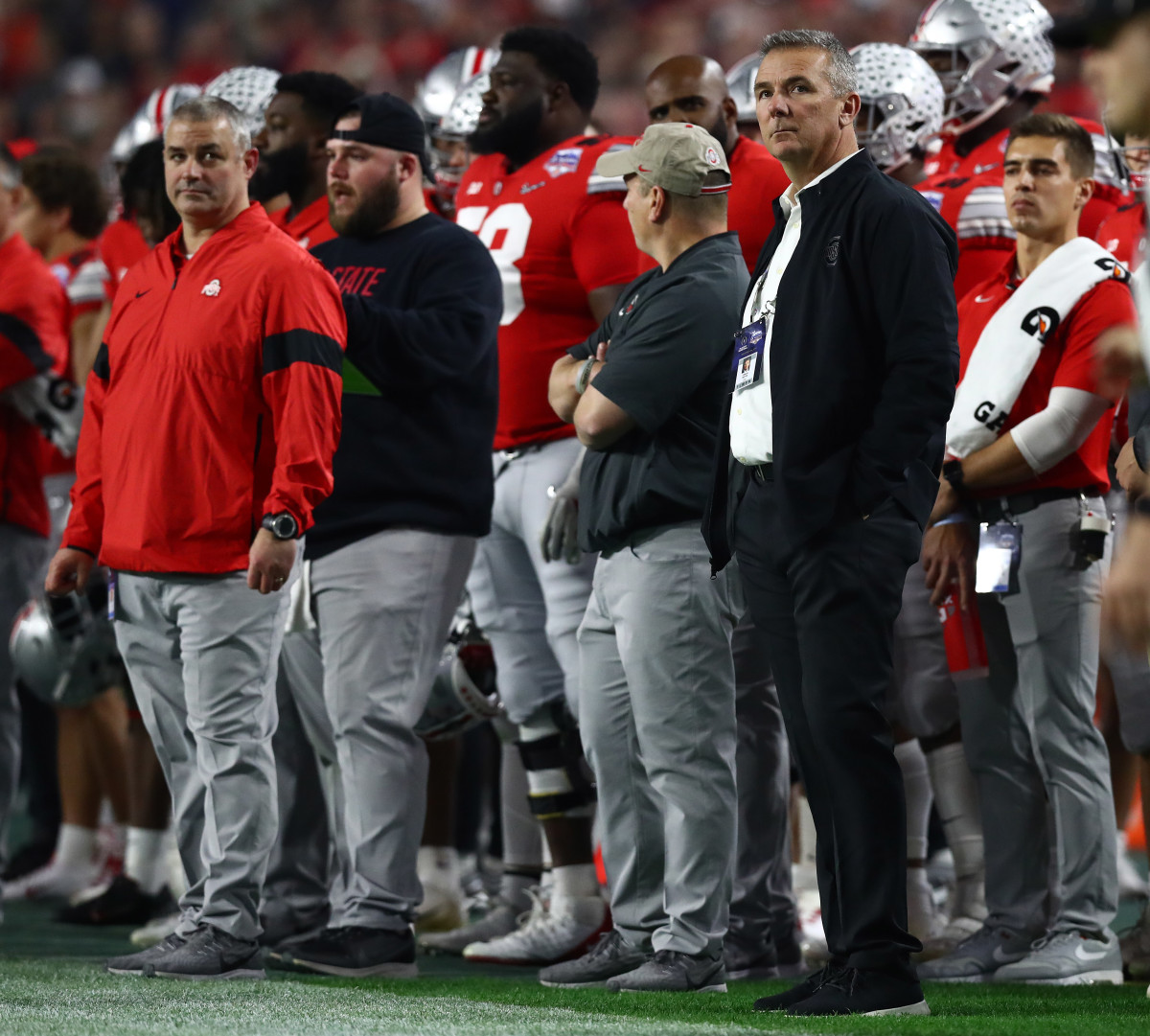 With Urban Meyer in Attendance at Pro Day, Ohio State Prospects Ponder a Future With the Jacksonville Jaguars thumbnail