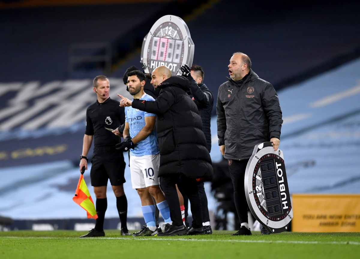 """""""Sergio Aguero has conquered England!"""" - Pep Guardiola heaps praise on Man City forward following recent announcement - Sports Illustrated Manchester City News, Analysis and More"""