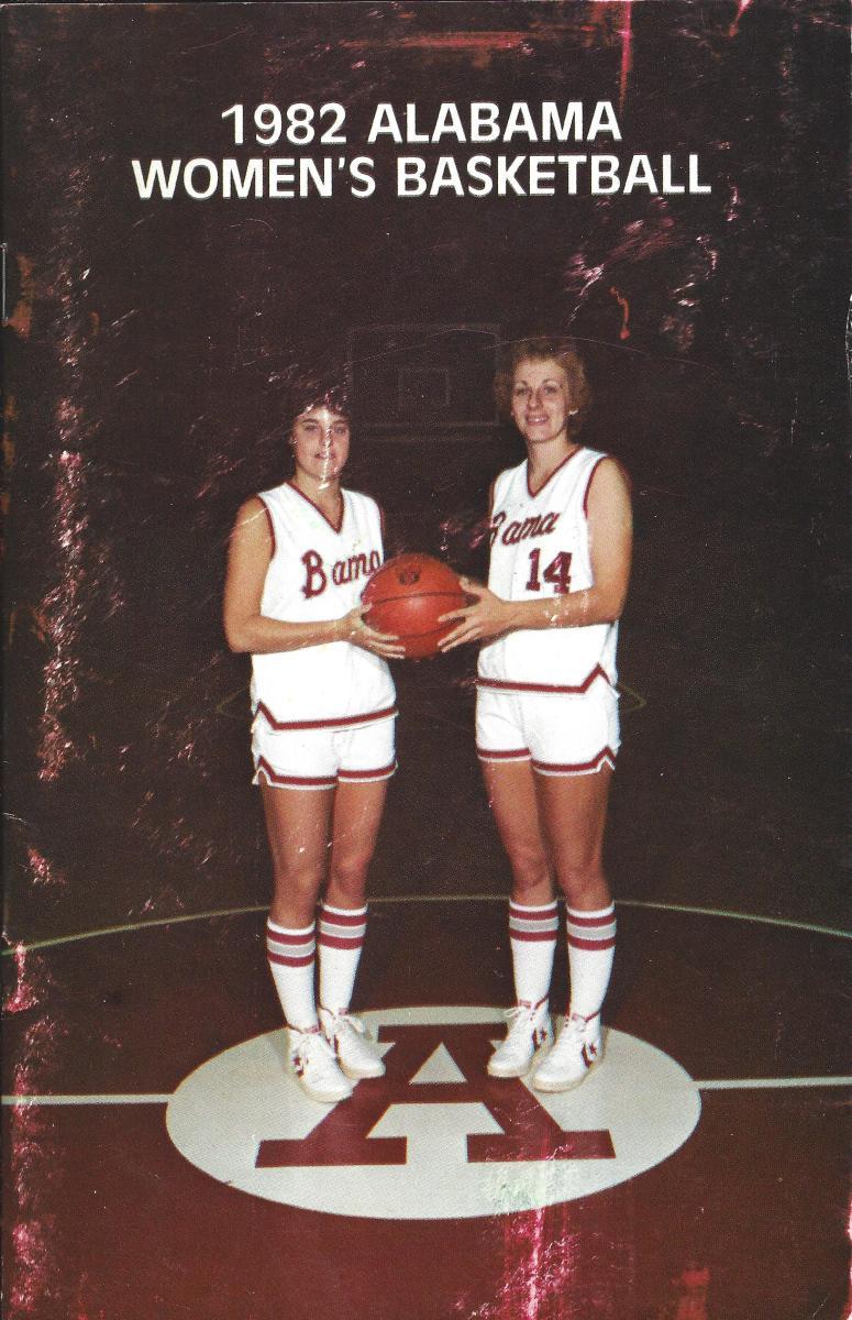 Women's basketball media guide 1982