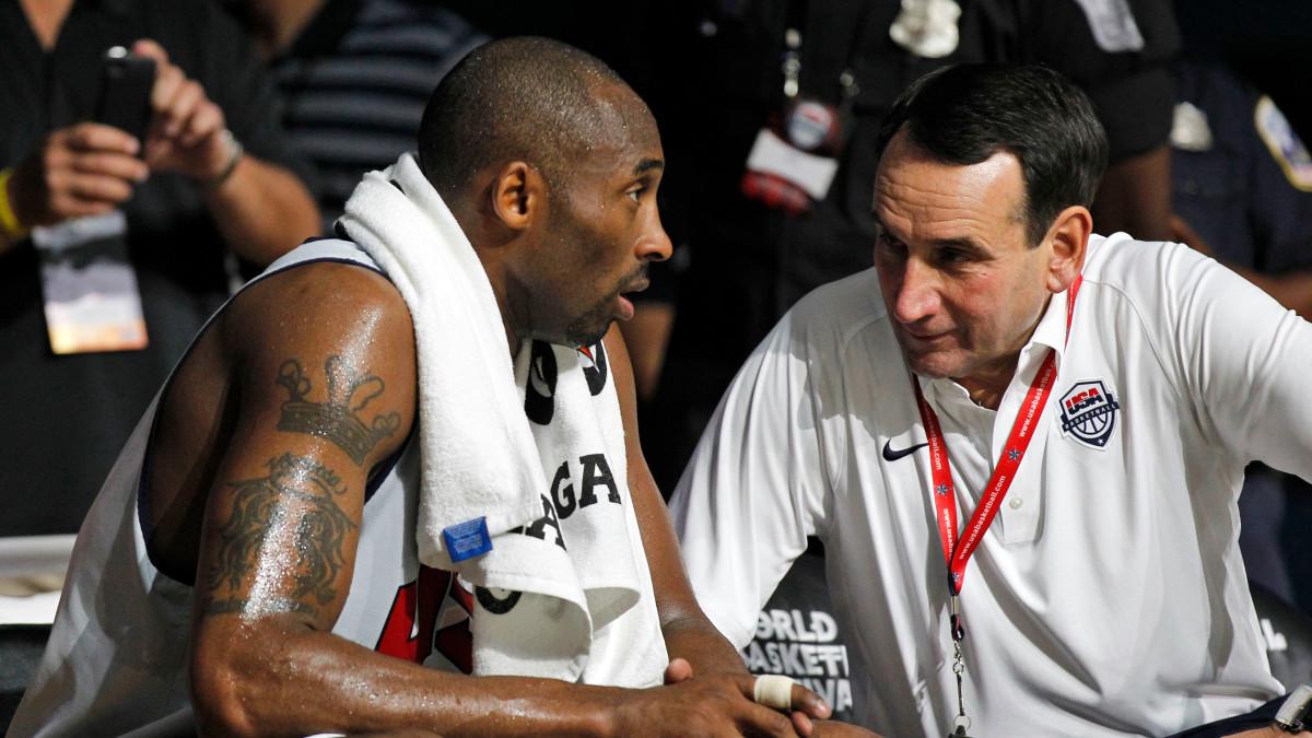 Coach Mike Krzyzewski Pays Tribute to Kobe Bryant