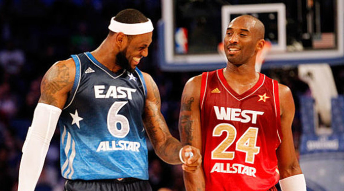 Report: LeBron, Kobe Shared a Phone Call Late Saturday Night After Scoring Record Fell