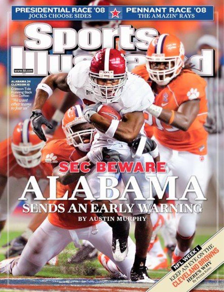 Sports Illustrated September 8, 2008: SEC Beware; Glen Coffee