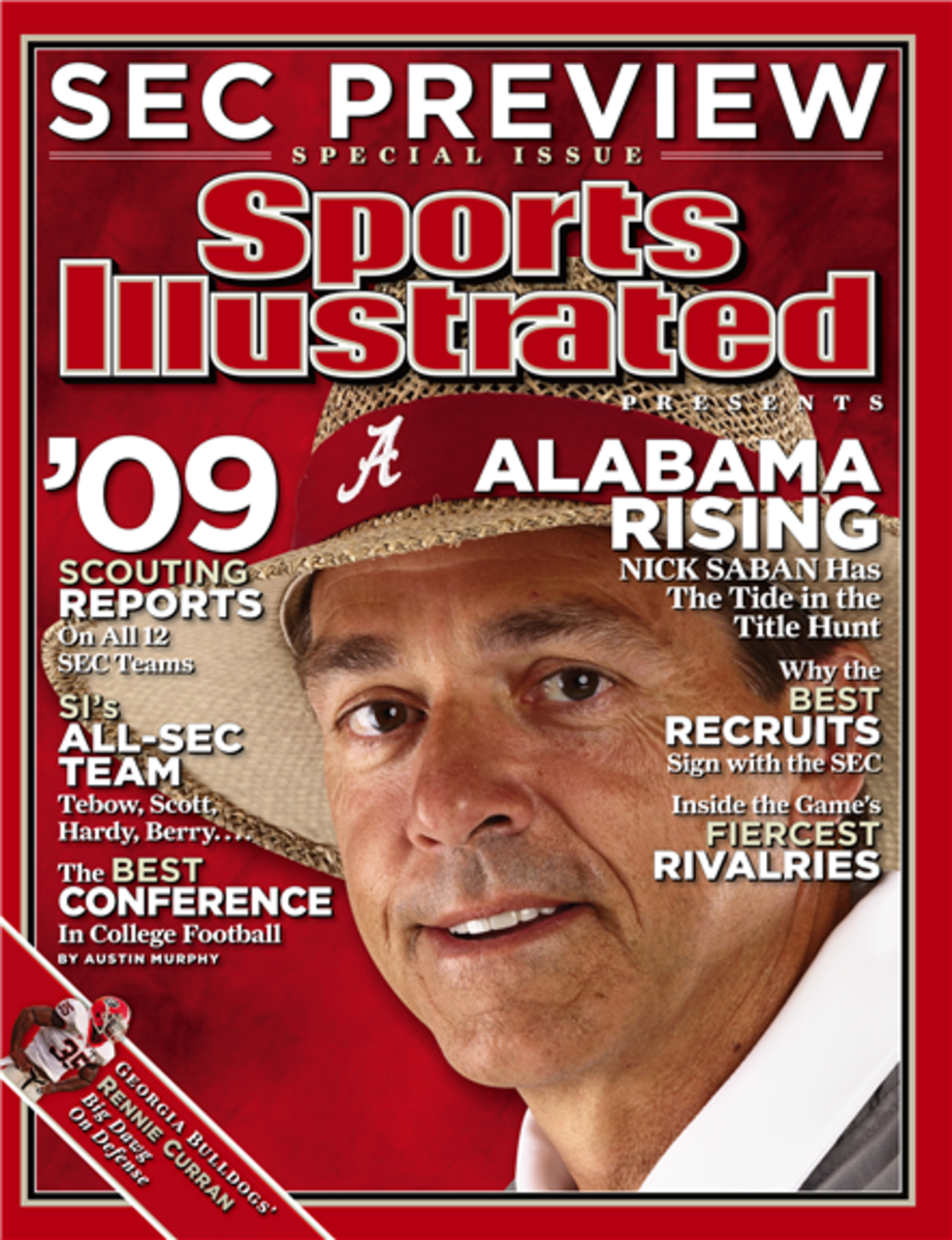 Nick Saban, Sports Illustrated SEC Preview, Alabama Rising, July 29, 2009