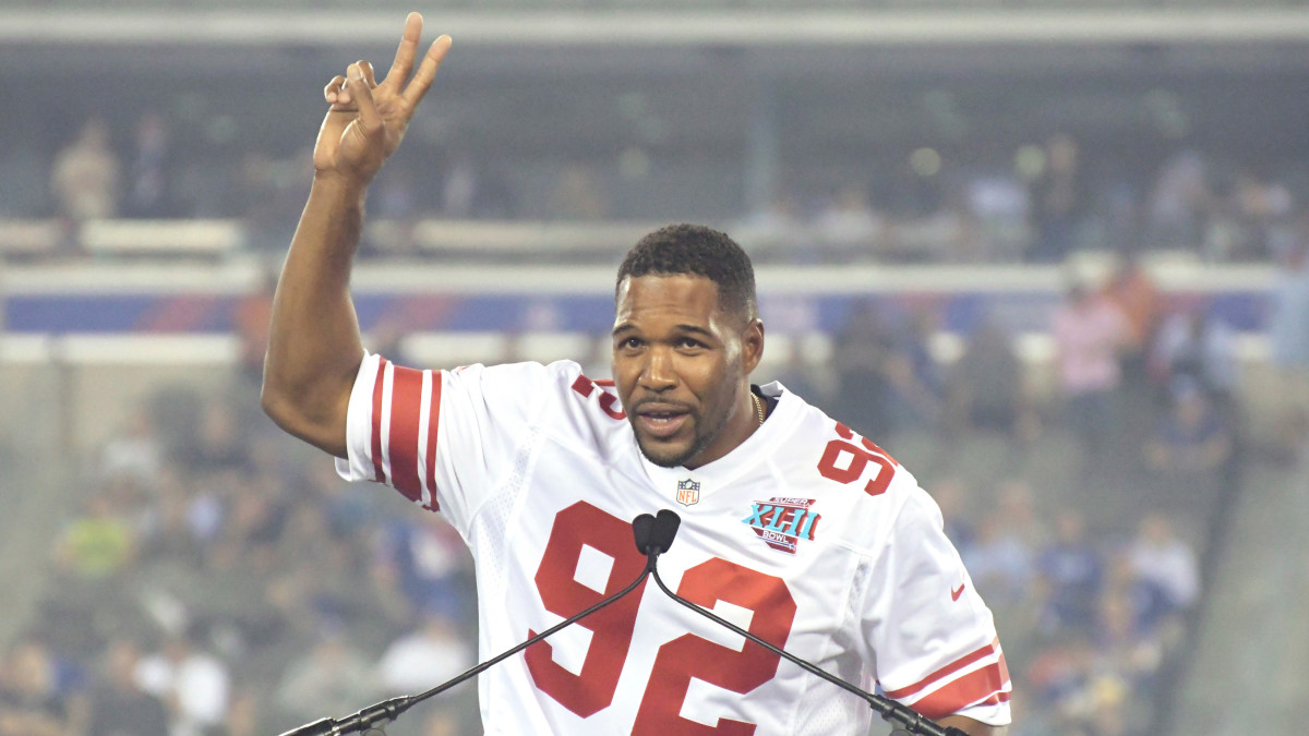 Michael Strahan Says Giants Will Retire His No. 92 Jersey