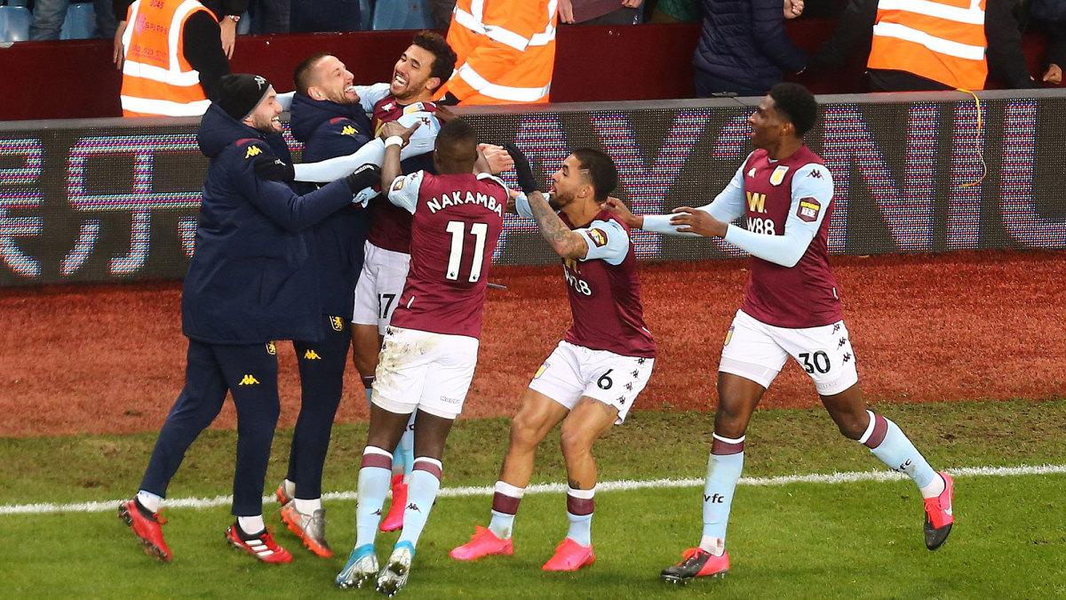Trezeguet sends Aston Villa to the League Cup final