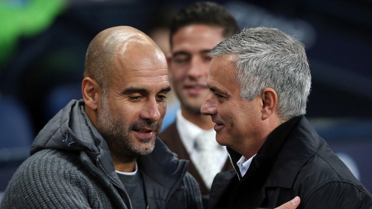 Pep Guardiola and Jose Mourinho have a long, heated history