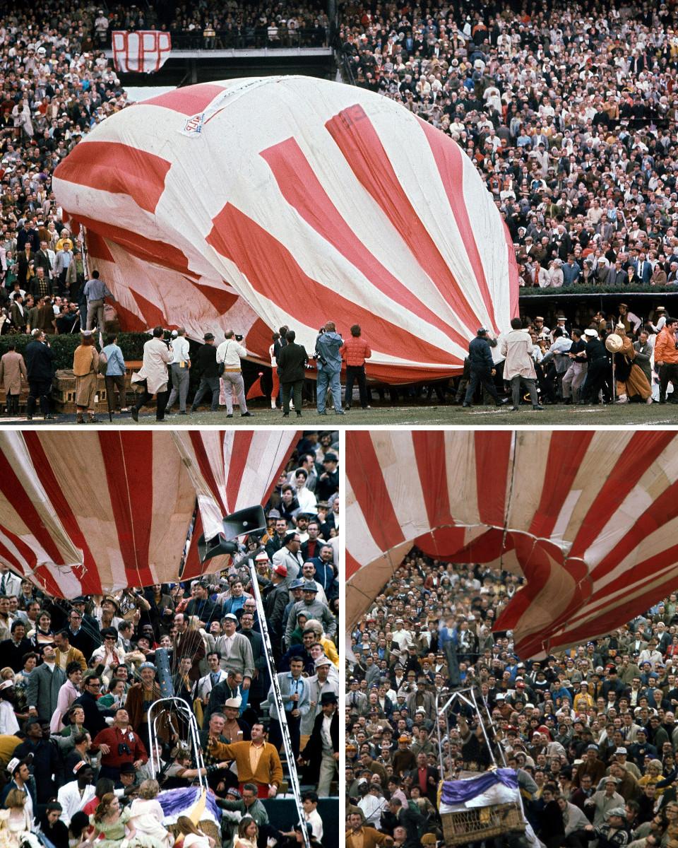 Super Bowl IV hot air balloon crash