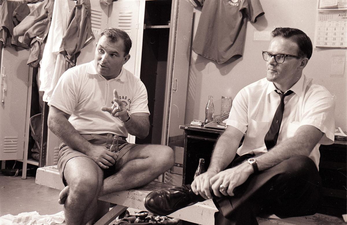 Hank Stram and Lamar Hunt