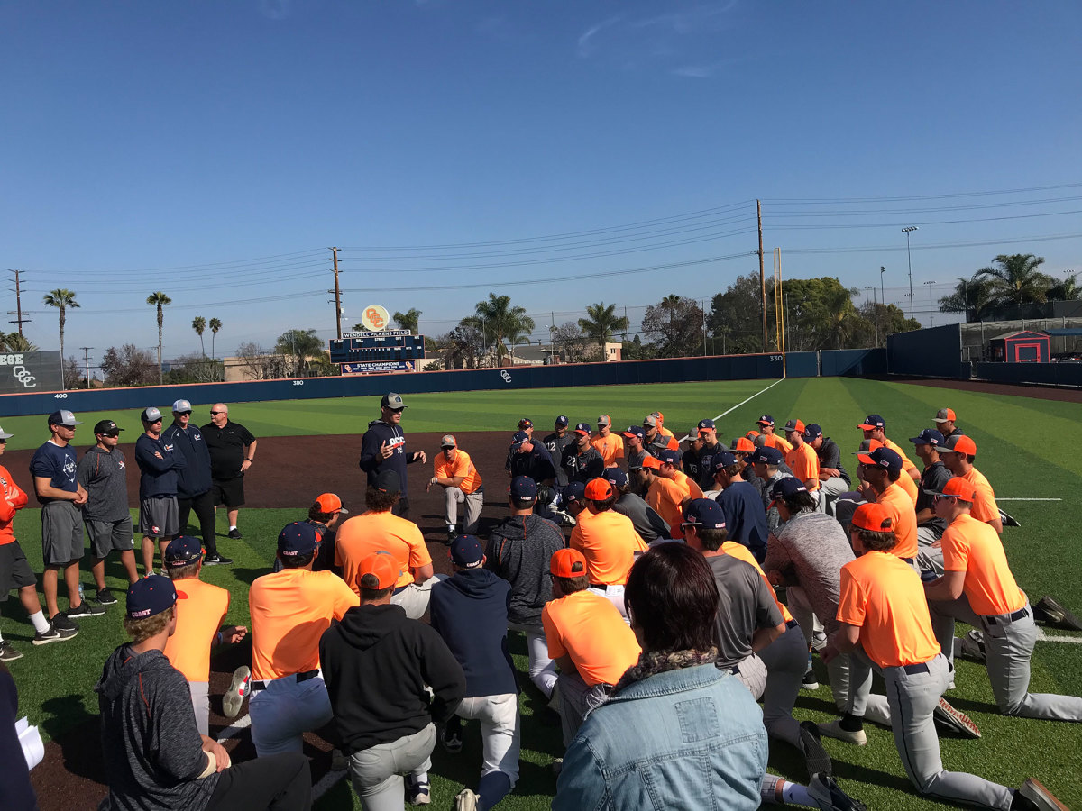 OCC's baseball team addresses the death of coachJohn Altobelli
