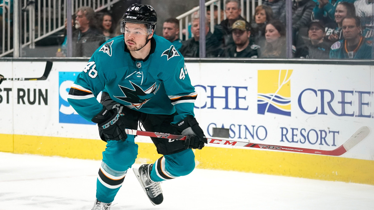 With Hertl Injury, Sharks Can Now Officially Start Rebuild
