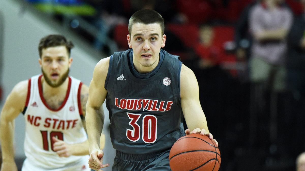 Louisville basketball college NCAA rankings
