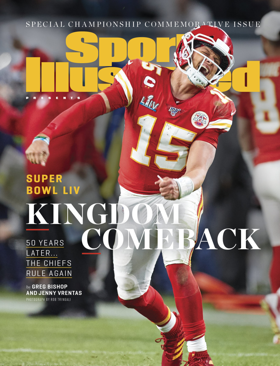 Chiefs Super Bowl Sports Illustrated cover