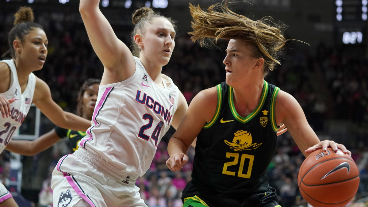 Oregon and UConn (oregon vs uconn 2019)