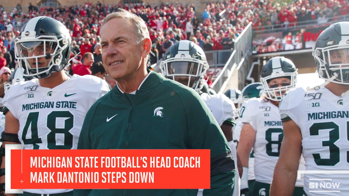 Mark Dantonio Steps Down as Michigan State Football's Head Coach