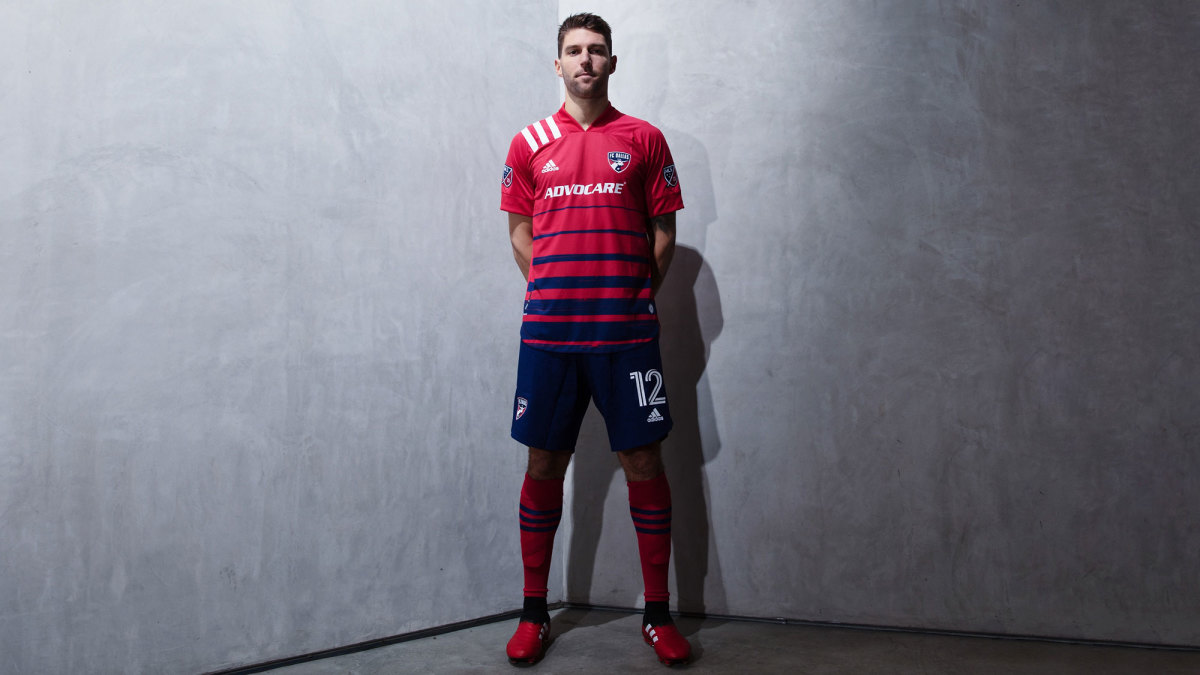 FC Dallas's 2020 MLS kit