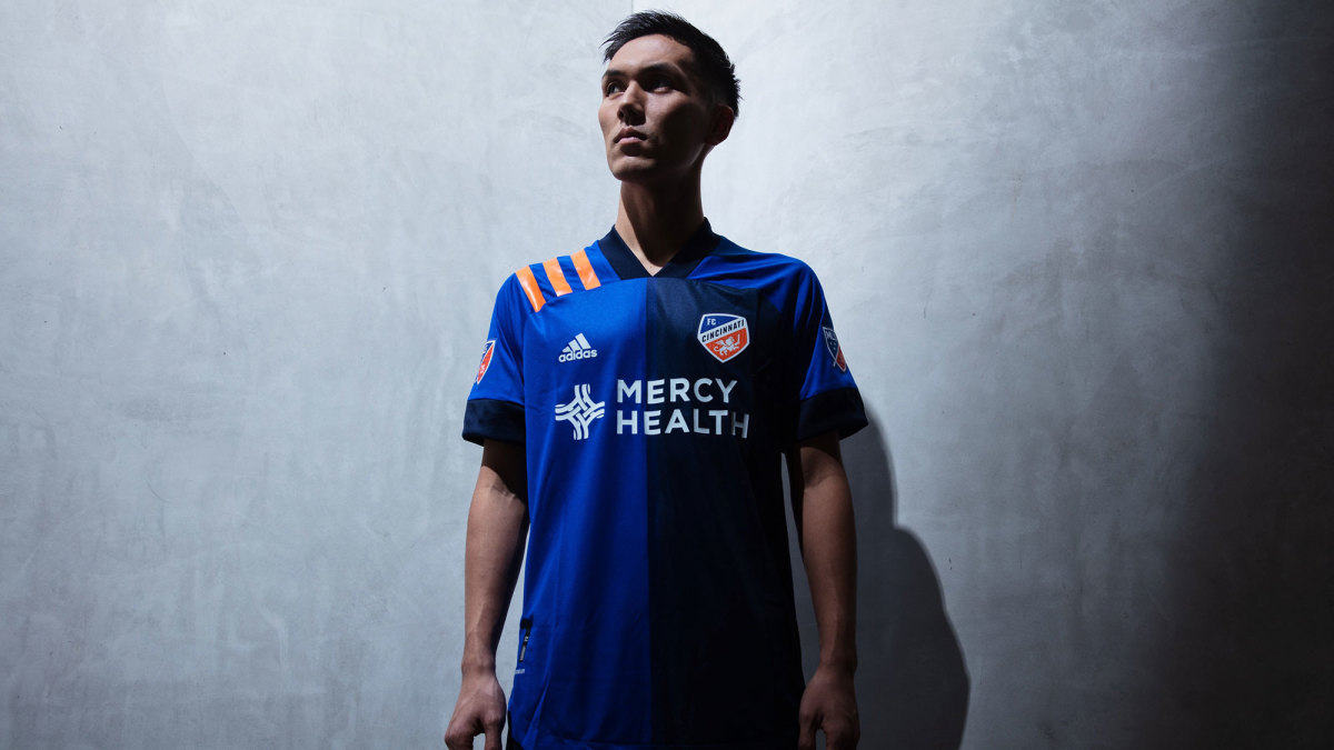 FC Cincinnati MLS 2020 kit