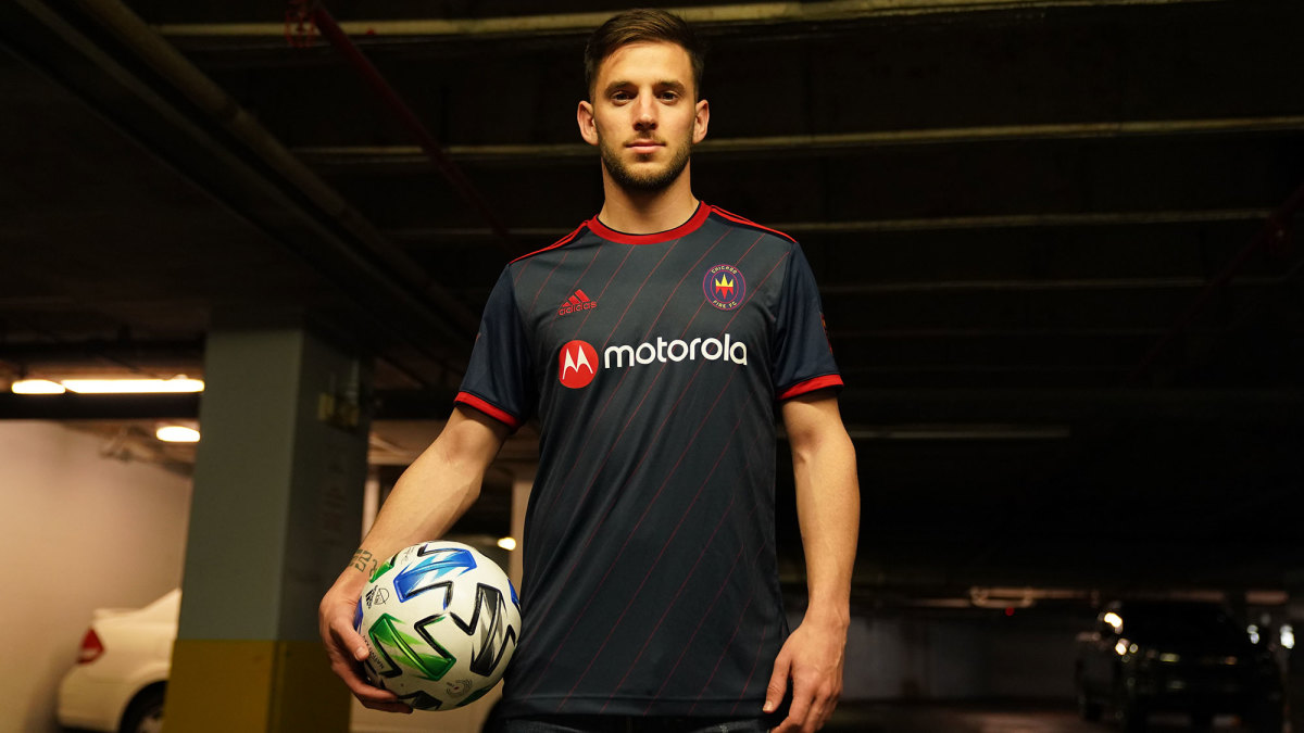 Chicago Fire's 2020 MLS home kit