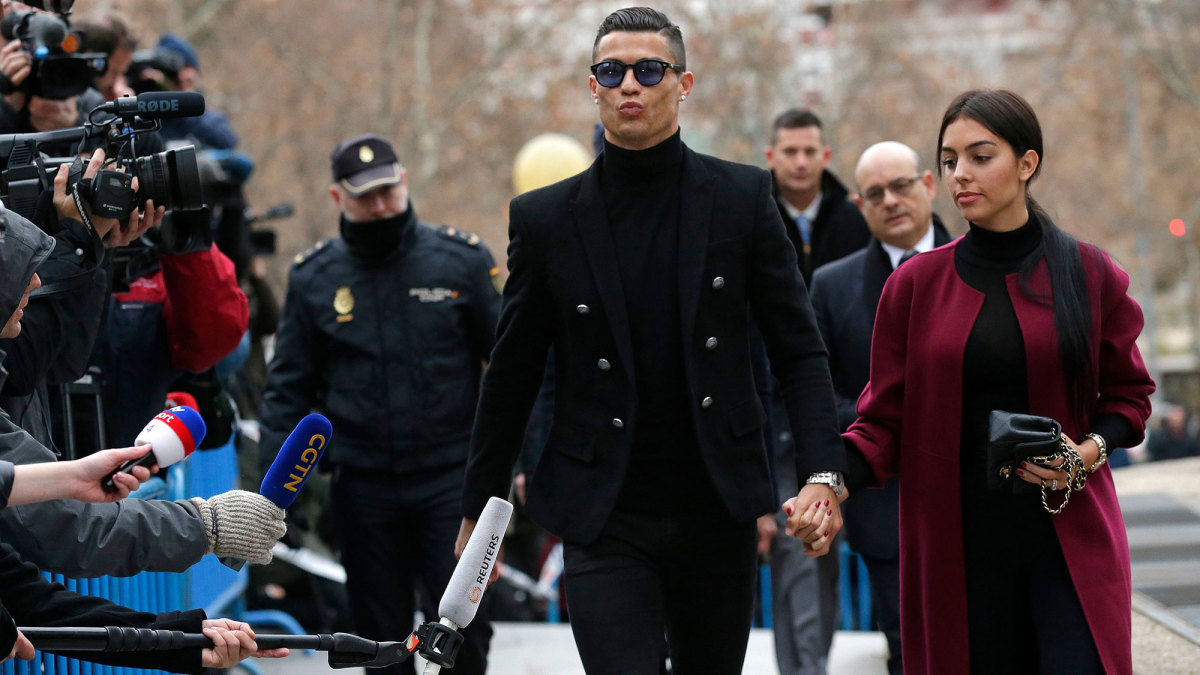 Cristiano Ronaldo was accused of rape for an alleged incident in 2009