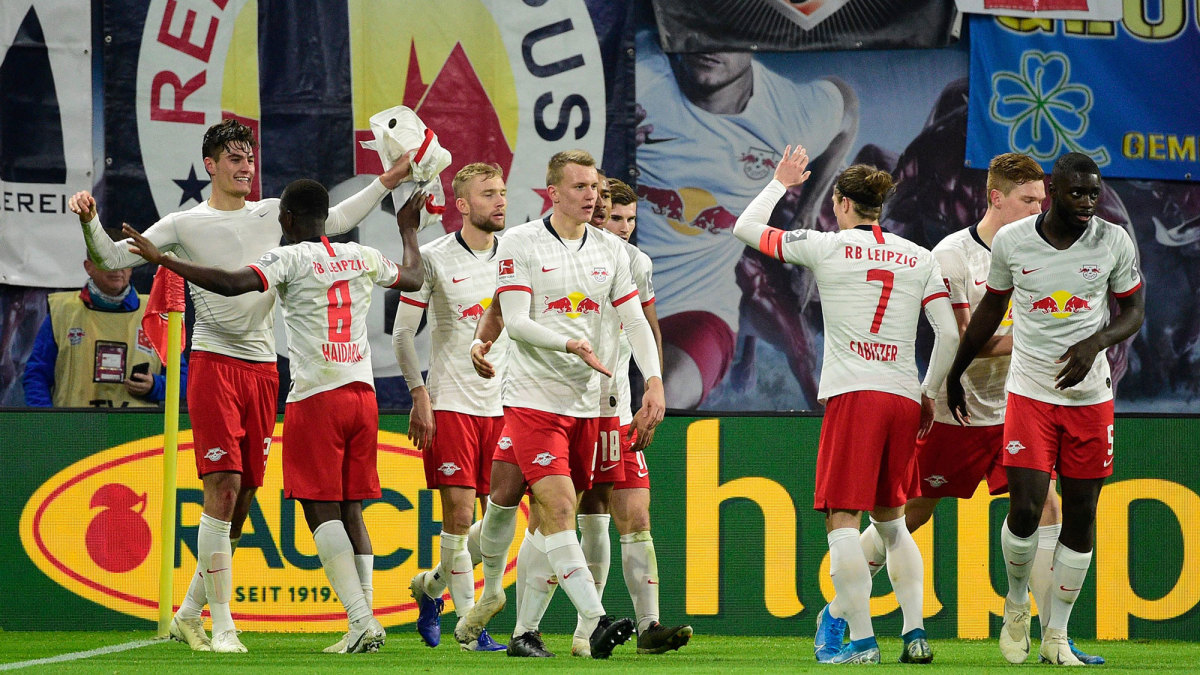 RB Leipzig is challenging for the Bundesliga title