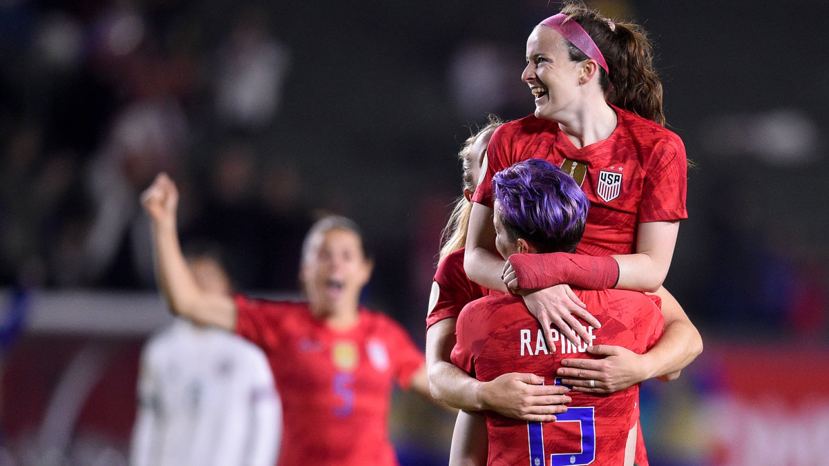 Rose Lavelle helped the USA qualify for the Olympics