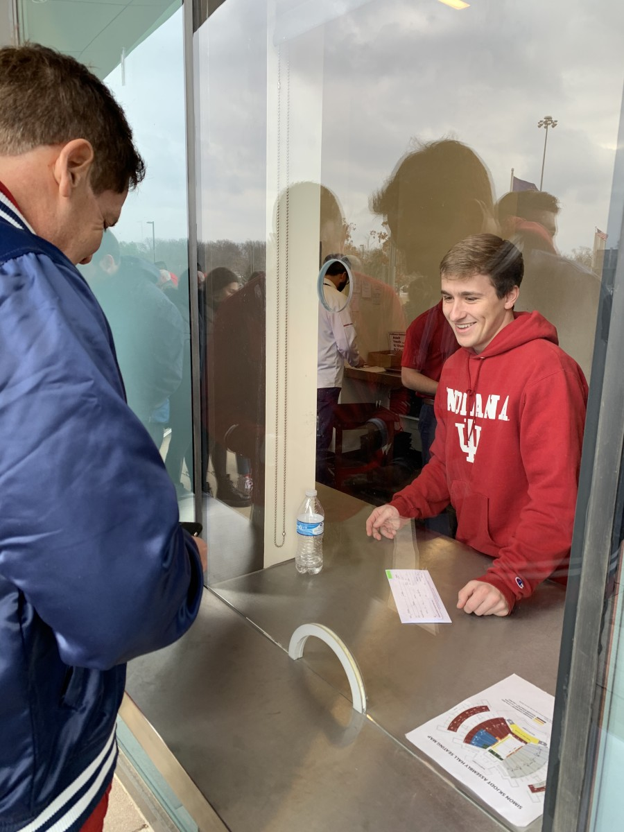 Mark Cuban picked up his tickets at the Will-Call window, and was asked for an ID.