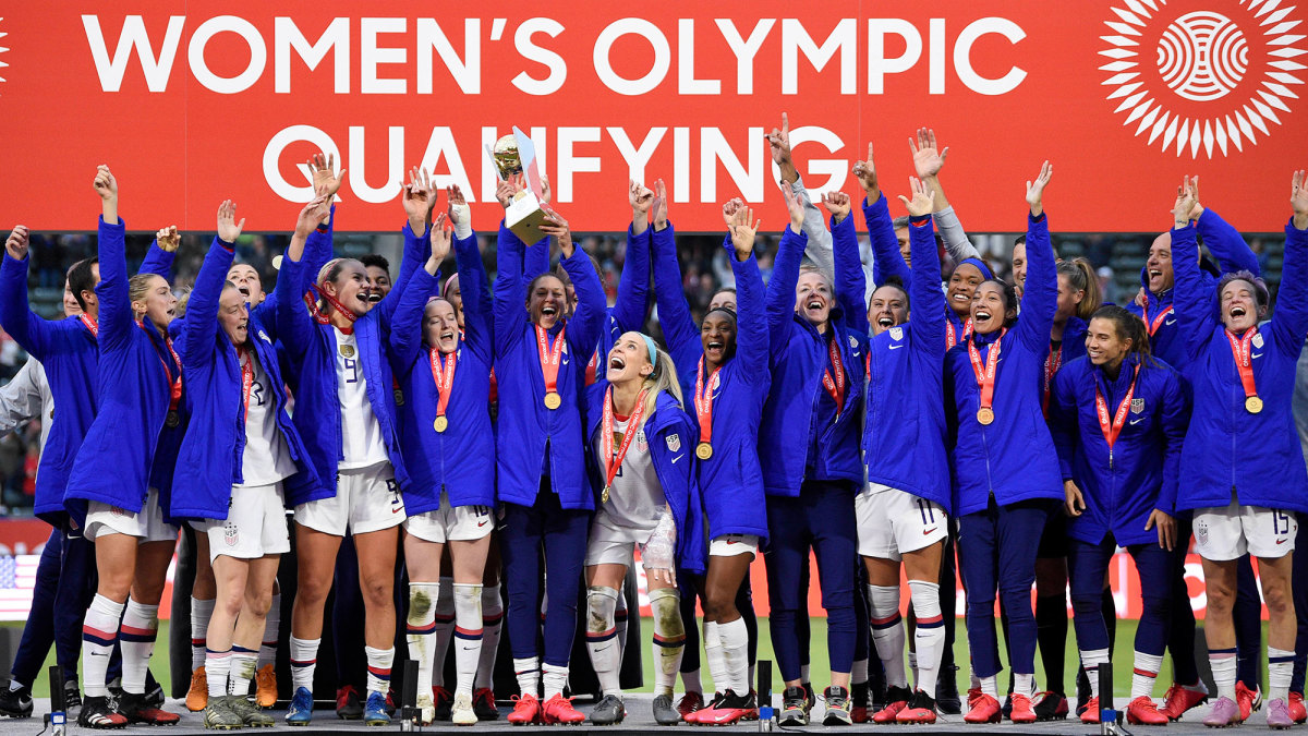 The USWNT won Concacaf's Olympic qualifying tournament