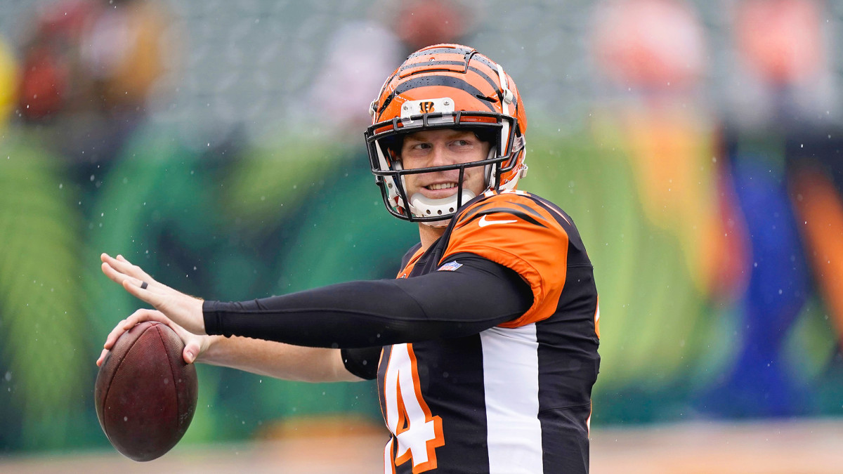 Dalton is 1,244 yards behind Ken Anderson on the Bengals' all-time passing leaderboard.