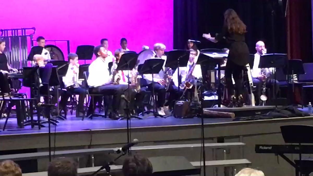 Jaden Bradley doubles as a saxophone player.