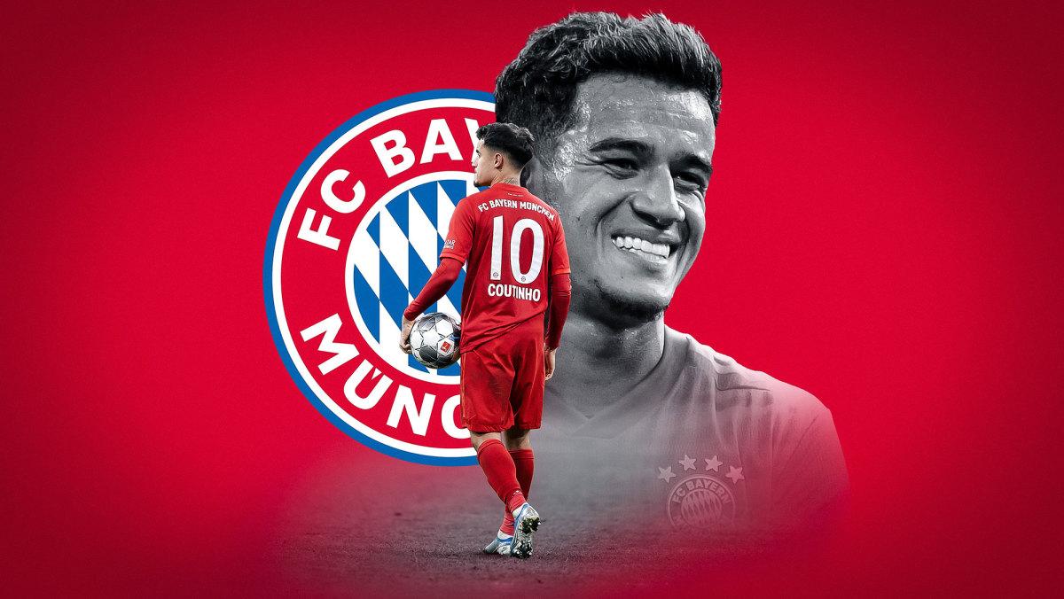 Bayern Munich playmaker Philippe Coutinho