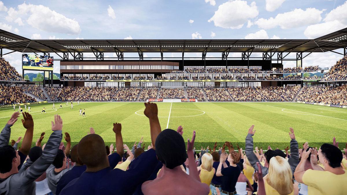 Nashville SC's stadium plan was essential its MLS expansion bid