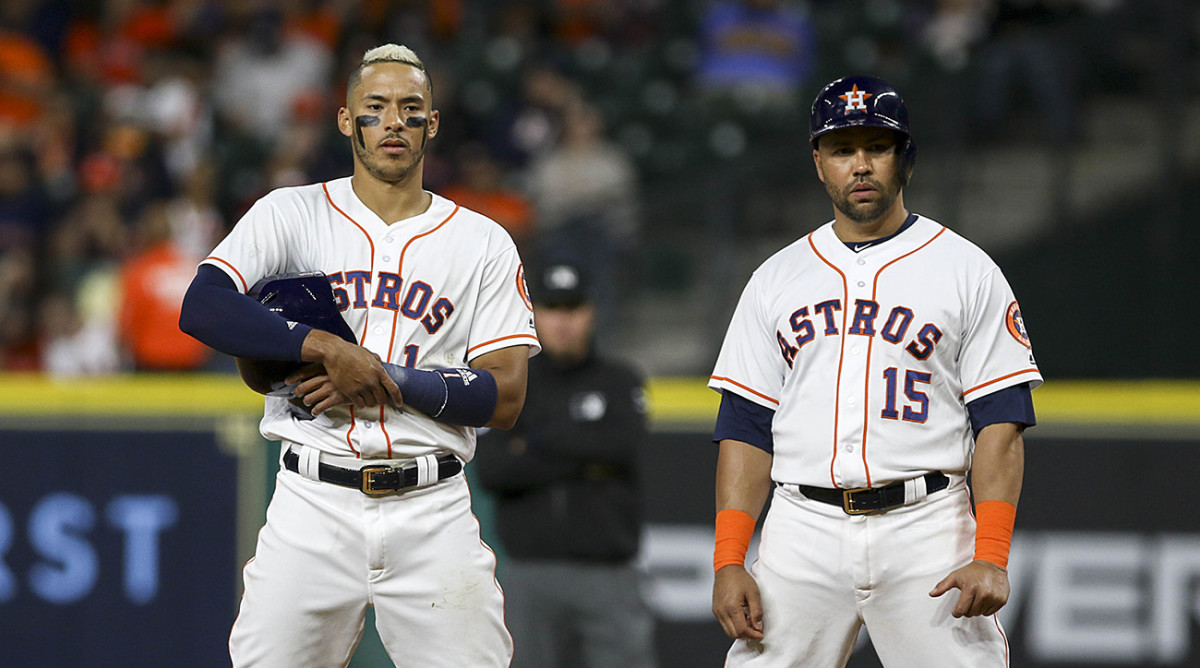 Carlos Correa Says Astros 'Didn't Feel Intimidated' by Carlos Beltrán