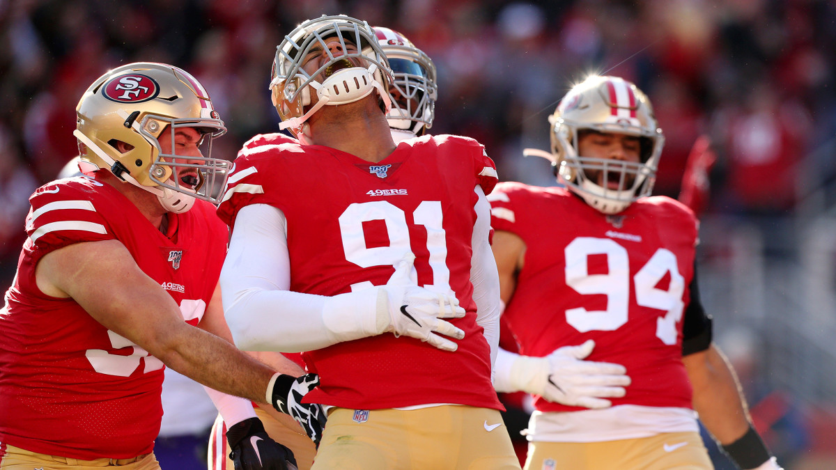 In his fifth year with the Niners, Armstead had a team-best 10 sacks.