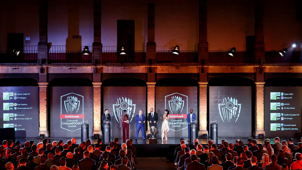 The 2020 Concacaf Champions League draw