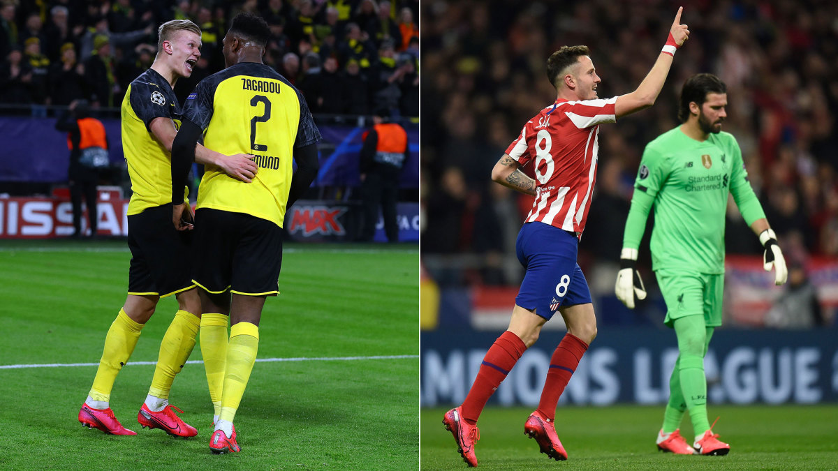 Erling Haaland and Saul Niguez fire their teams into UCL leads