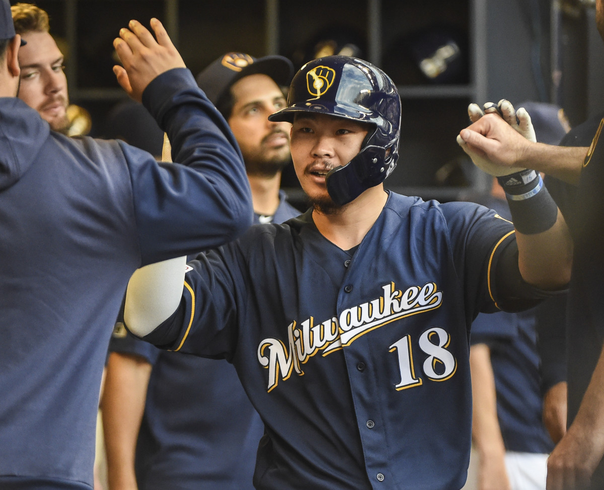 Fantasy Baseball, Keston Hiura Milwaukee Brewers