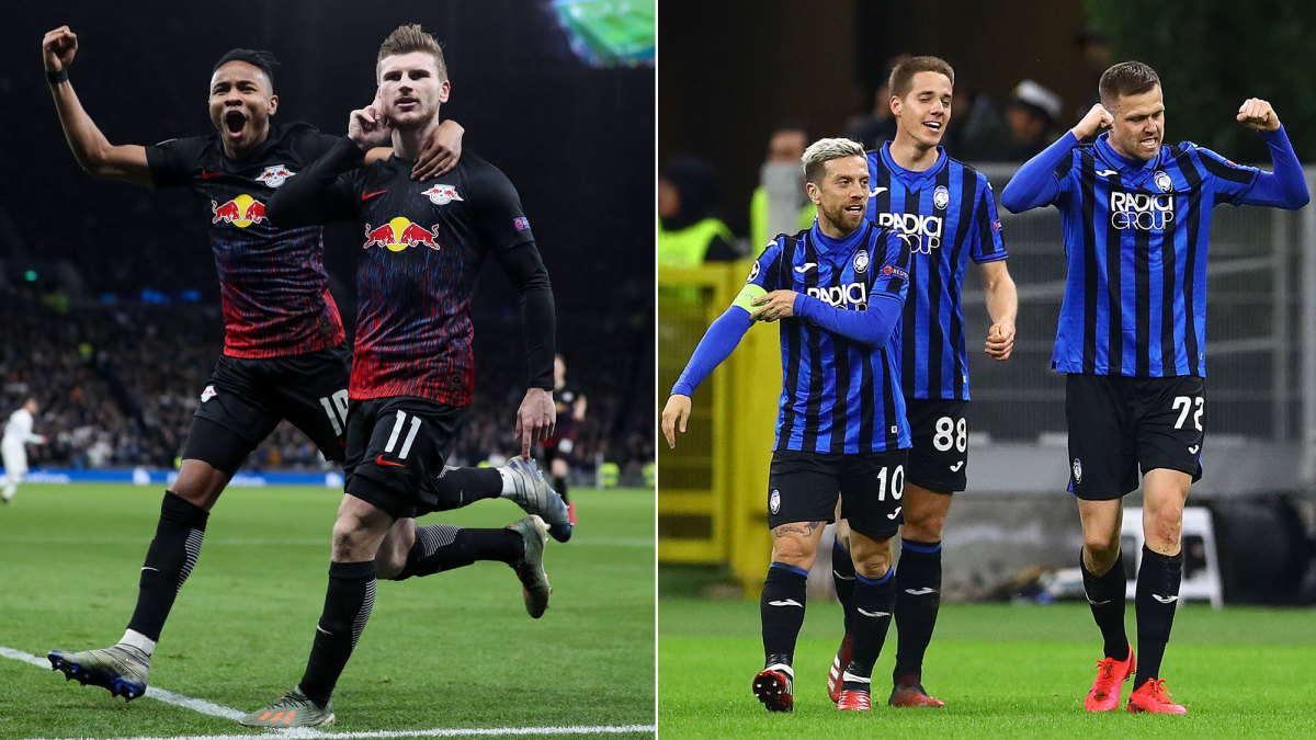 Leipzig, Atalanta Win With Style in Champions League