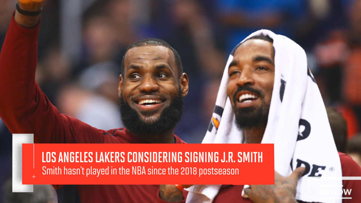 The Lakers Are Considering Signing J.R. Smith